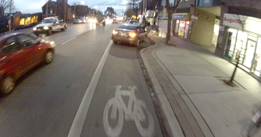 Brla_131_-_dec_05_2013_-_college_at_brunswick_-_parked_in_bike_lane